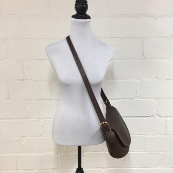 Coach Handbags - Coach Vintage Leather Crossbody in Brown